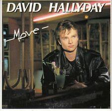 RARE  CD EP 3 T DAVID HALLYDAY *MOVE* / 1988