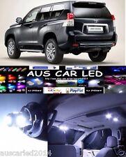 Toyota Landcruiser Prado 150 Series LED Interior Light Kit/Pack - 10 Pcs White