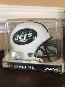 NFL NY New York Jets Mini Helmet Riddell Collectible Sports Memorabilia