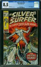 Silver Surfer #18 CGC 8.5 -- 1970 -- Last Issue. Mephisto Kirby #1282329006