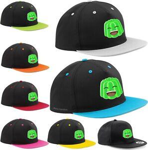 ZOTAN JELLY GREEN FACE HAT YOUTUBER SNAPBACK ADJUSTABLE CAP