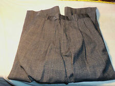 jos a bank 30 x 25  pleated no cuffs 97% wool 3% cashmere #235