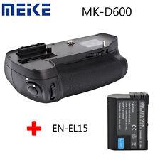 Meike MK-D600 Battery Grip For Nikon D600 D610 Camera as MB-D14 +EN-EL15 battery