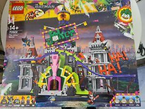SEALED NEW GENUINE LEGO The Batman Movie - The Joker Manor - 70922