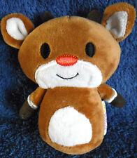 *1901c*  Hallmark - Itty Bittys  Rudolph the red nosed Reindeer - plush - 10cm