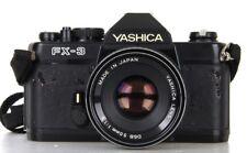 Yashica FX-3 Lens DSB 50 mm 1.9    (Réf#S-015)