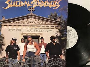 Suicidal Tendencies – How Will I Laugh Tomorrow... LP 1988 Virgin – V2551 UK VG+