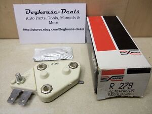 70-79 INTERNATIONAL SCOUT II 1100D 1010 + BWD R279 Voltage Regulator FREE SHIP