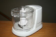 PROCTOR SILEX MINI FOOD PROCESSOR CHOPS NUTS AND CRACKERS ◄