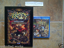 Dragon's Crown with Pre-order Bonus Art Book PlayStation Vita Brand New Sealed