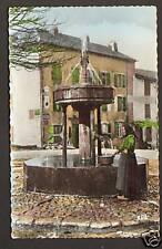LACAUNE (81) FONTAINE ,PLAQUE Mur Publicité KUB & PICON