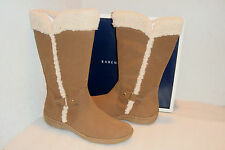 Karen Scott Womens NWB Hickory Camel Beige Boots Shoes 6.5 MED NEW