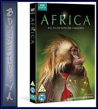 AFRICA - BBC SERIES -David Attenborough *BRAND NEW DVD*