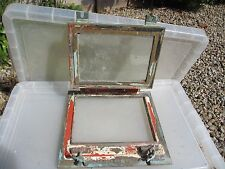 Vintage Brass Porthole Window Military Ship Boat 1956 E.R Navy Unusual Old
