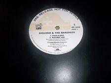 "Siouxsie & The Banshees Peep Show Sampler 12"" UK EX Peek A Boo Killing Jar"