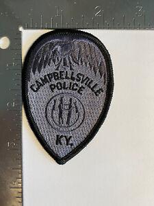 CAMPBELLSVILLE POLICE KENTUCKY PATCH