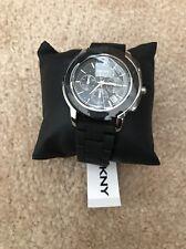New DKNY ladies blk acrylic chronograph watch. NY8355. cheapest on ebay