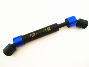 Center Driveshaft 107-142mm For Traxxas TRX4 Tamiya CC01 Axial SCX10 RR10 Wraith
