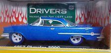 1957 CHRYSLER 300C CASTLINE '10 M2 Machines CHASE (Blue Tires)Auto-Drivers Rel.5