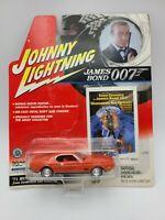 Johnny Lightning James Bond 007 1971 Ford Mustang Mach 1 1/64 FREE SHIPPING