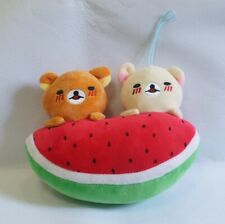 Creative plush toy watermelon bear 25cm (9.84in)