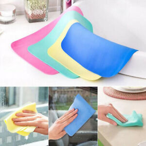 Car Washing Wipe Towel Ch Absorber Synthetic Chamois Leather Color Random