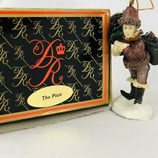 Duncan Royale The Pixie History Santa Claus 92 Vntg Holiday Christmas Ornament