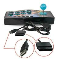 8 Button Arcade Game Controller Game Joystick Rocker Handle Fight Stick I3L7