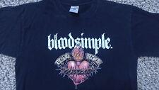 Bloodsimple shirt Medium static-x mudvayne spineshank slipknot blood simple vod
