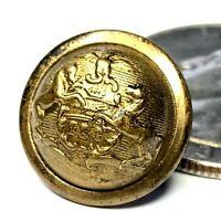 Civil War Michigan Militia officer state seal 15mm cuff button