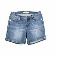 Torrid Womens Bermuda Denim Stretch Shorts Size 14