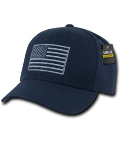 RAPDOM Tactical USA Embroidered Operator Cap (Navy)