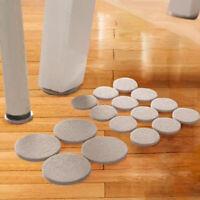 18PCS Furniture Chair Table Leg Self Adhesive Felt Pads Wood Floor Protectors v
