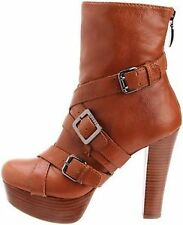 "High 3"" and Up Women's Leather Boots"
