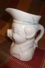 Pig Pitcher Creamer Pottery Old Vintage Shawnee McCoy