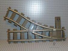 LEGO® 2859 DarkStone Weiche 9V Rechts Switch Point Right 4531 4206 R1001