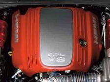 DODGE CHRYSLER 5.7L HEMI Orange Carbon Fiber Style Engine Cover NEW OEM MOPAR