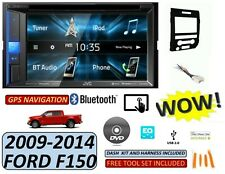 09-14 FORD F150 JVC CD/DVD/USB BLUETOOTH CAR RADIO STEREO W/ OPT. SIRIUSXM