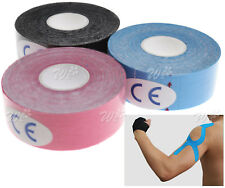 3 Roll 2.5cm*5m Kinesiology Tape Elastic Sports Injury Muscle Physio Muscle Care