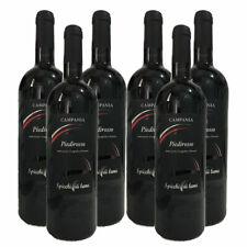 Vino Rosso Campania PIEDIROSSO IGP 6Bottiglie da 750ml