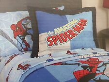 2 pc Marvel Comics The Amazing Spider-man Collection Twin Quilt & Sham Set NIP