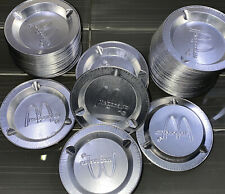 McDonald's Restaurant Vintage Aluminum Ashtray 3-1/2 Inches Wide ~ Collectors
