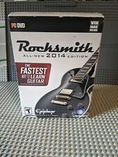 New! PC MAC DVD Rocksmith 2014 Edition (With Real Tone Cable)