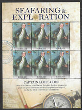 KIRIBATI 2009 SEAFARING & EXPLORATION CAPTAIN JAMES COOK Sheet 6 CTO/USED