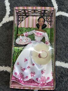 RARE NEW 2002 Victorian Tea African American Barbie Doll Mattel #B0788 NRFB