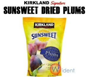 Kirkland Signature Sunsweet Dried Plums 56 oz