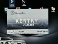 MB STAR Mercedes (SSD DRIVE 254GB) 06.20 Xentry Diagnostics SOFTWARE  C4/C5