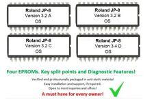 Roland Jupiter-8 Version 3.2 + 3.4D Firmware Update Upgrade Eprom - Jupiter8 JP8