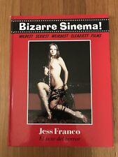 Bizarre Sinema!Horror Spanish Erotica Cult Cinema RARE SIGNED JESS FRANCO! Lot
