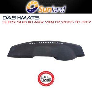 Sunland Dashmat Fits Suzuki APV VAN 07/2005 - 2017 For All Models Cover Mat